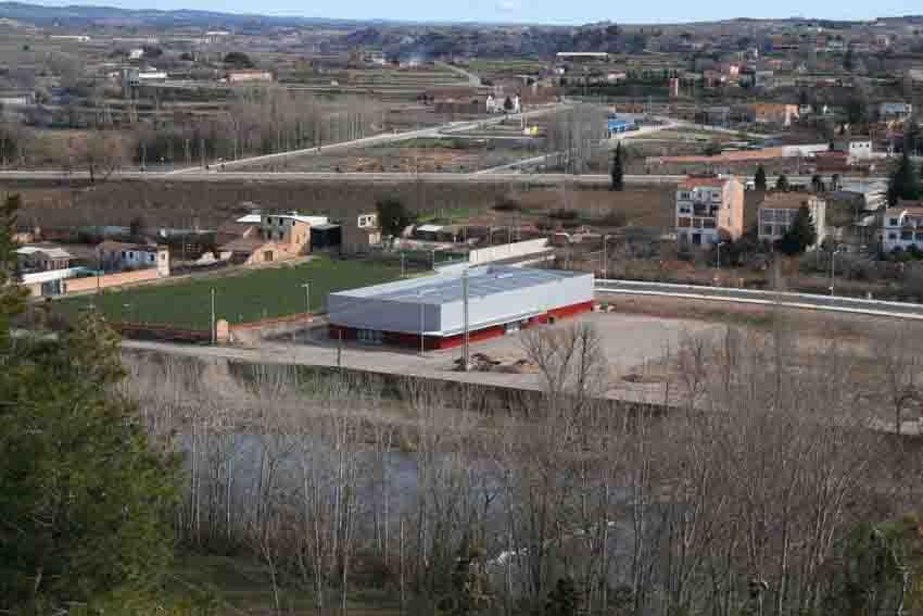 Vista exterior del pavelló del CTT Balaguer