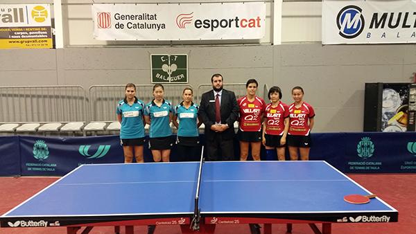 Tecnigen Linares VS Balaguer Villart Logístic